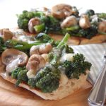 Brassicas - Broccoli - Purple sprouting broccoli cheese on toast