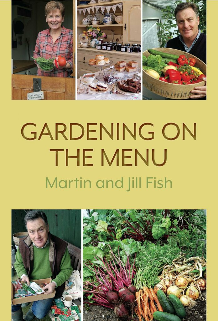Gardening on the Menu front cover web copy