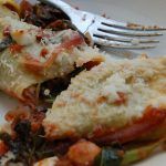 Spring green cannelloni - finished 1