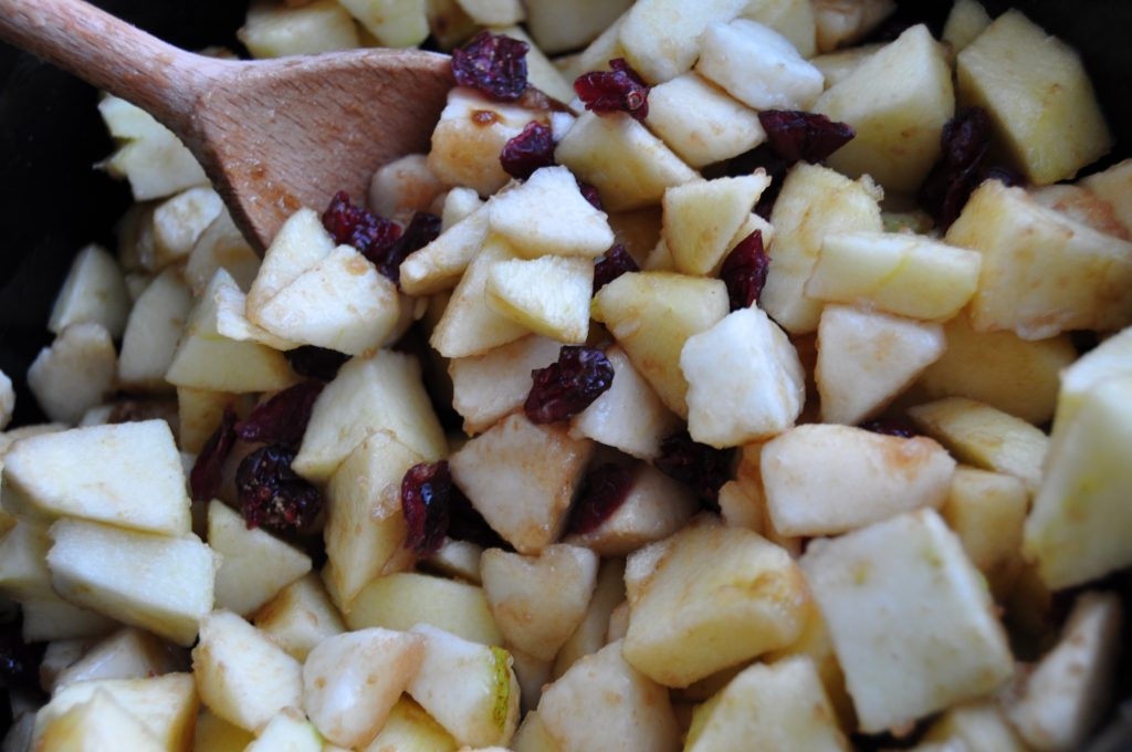 Apple compote - slow cooker
