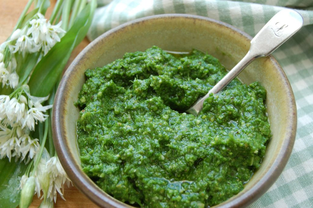Wild garlic pesto web