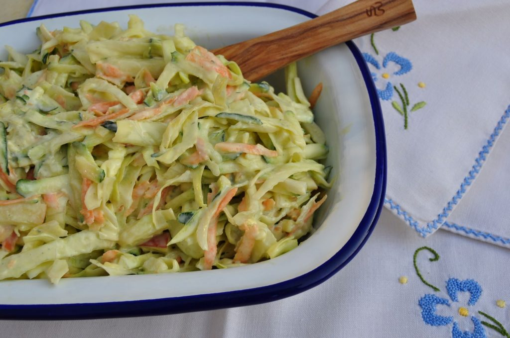Courgette and blue cheese coleslaw 2mp
