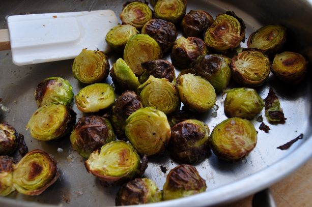 Roast sprouts - web