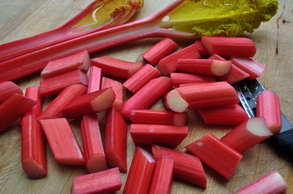 Forced rhubarb - web
