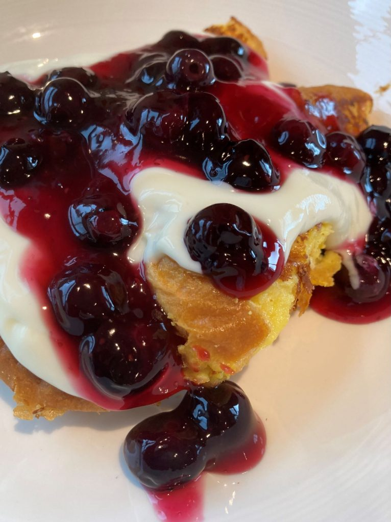 blueberry cheesecake french toast - web